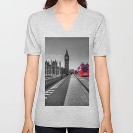 Big Ben, London Unisex V-Neck