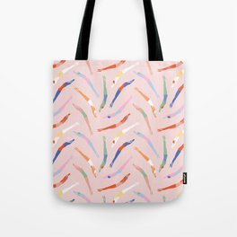 Art Deco Divers in Champagne Tote Bag