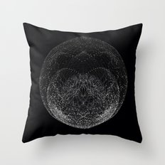 Sphere Tree Throw Pillow
