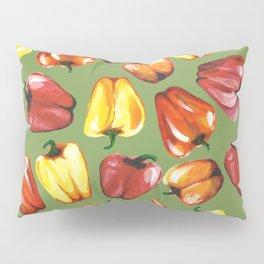 Bell Peppers Pattern Pillow Sham