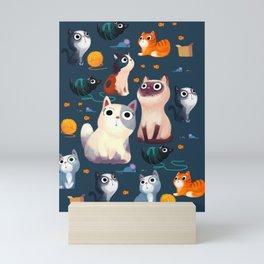 Cat Print Mini Art Print