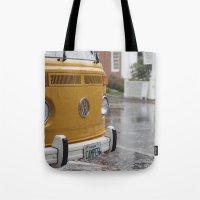 vw Tote Bags featuring VW by Karen Herder