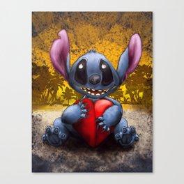Valen Stitch Canvas Print