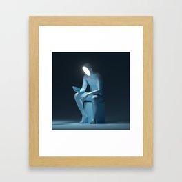 /ponder Framed Art Print