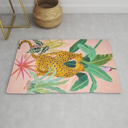 Cheetah Crush Rug