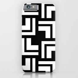 Black and White - L1 iPhone Case