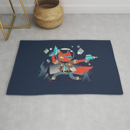 Bounty Hunter Space Cat Killa Rug