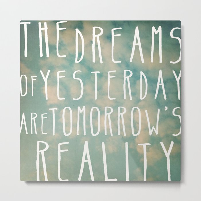 Dreams Of Yesterday Metal Print