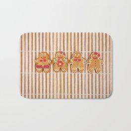 Gingerbread cookies Bath Mat