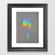 Through the Rainbow Framed Art Print