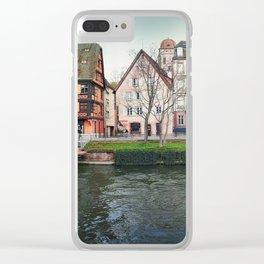 Quai des Bateliers Clear iPhone Case