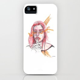 BREATHING I @EdART iPhone Case