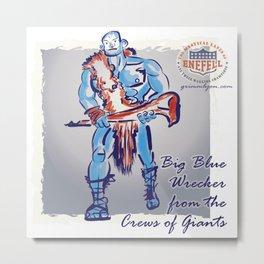 Giant; Big Blue Wrecker Metal Print