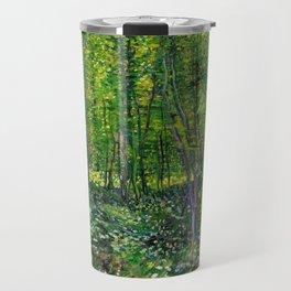 Vincent Van Gogh Trees & Underwood Travel Mug