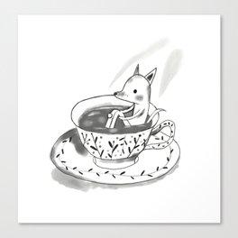 Tea cup Canvas Print