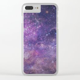 Sacred Universe Clear iPhone Case