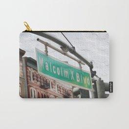 Malcom X Blvd Carry-All Pouch