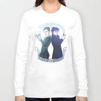 enerjax Long Sleeve T-shirts featuring Benedict Cumberbatch as Hamlet x Sherlock by enerjax