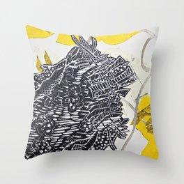 Posh Paisley Throw Pillow
