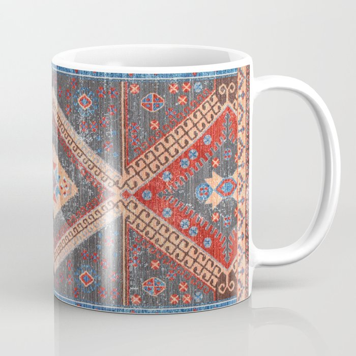 N19 - Boho Moroccan Oriental Artwork for Rustic and Farmhouse Styles. Coffee Mug