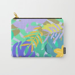 Soft tropical Carry-All Pouch