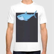 Toy Shark Mens Fitted Tee White MEDIUM