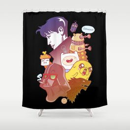 Miscellany Shower Curtain