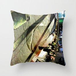 Soapbubble Throw Pillow