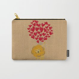 Lion Fall In Love Carry-All Pouch