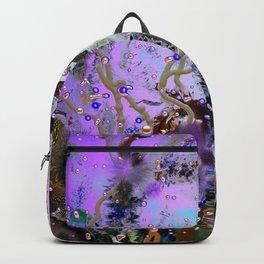 Underwater Violet Backpack