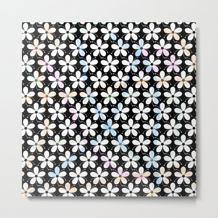 Pattern F 6 Metal Print