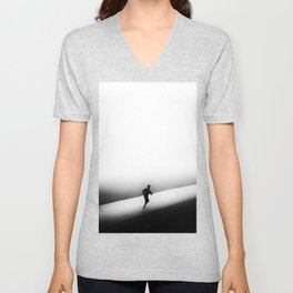 A Run in the Park Unisex V-Neck