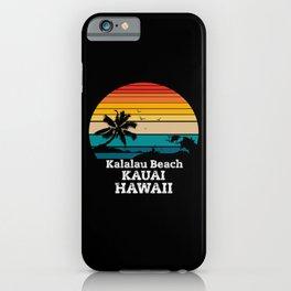 Kalalau Beach gift iPhone Case