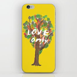 love only iPhone Skin