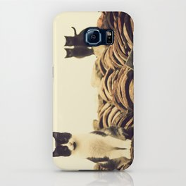 gatos en el tejado iPhone Case