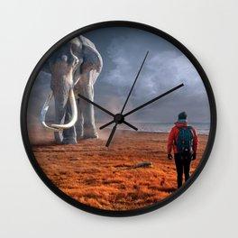 My Monolith Elephant Wall Clock