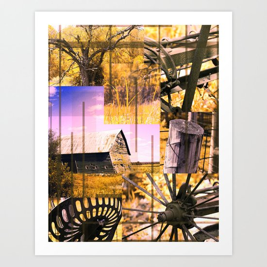 The Old Farm 3 Art Print