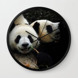 Friends are for Chillin' Wall Clock