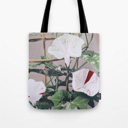 Ogawa Kazumasa - Striped Bindweed Flowers Tote Bag