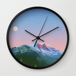 Tahoma Wall Clock