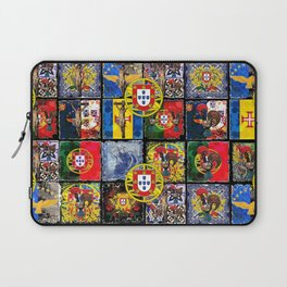 Portuguese culture Collage Laptop Sleeve