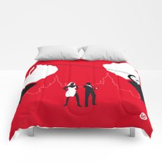 From Russia With Love Comforters