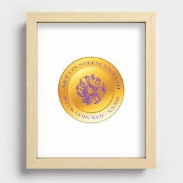 stvr COIN Art On Steem Recessed Framed Print
