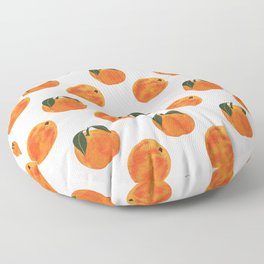Peach Harvest Floor Pillow