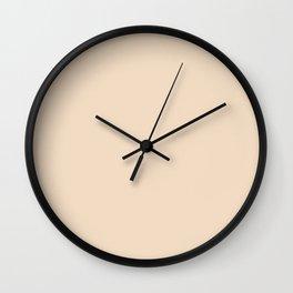 LIGHT CREME Wall Clock