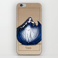 valar morghulis iPhone & iPod Skins featuring Varda by wolfanita