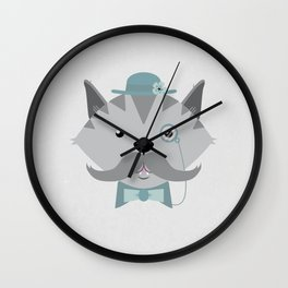 Mr. Pipsey Wall Clock