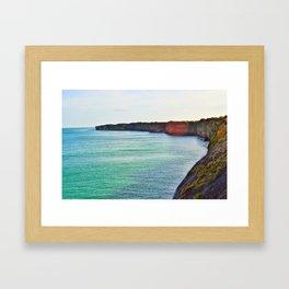 Normandy Beaches Framed Art Print