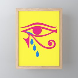 Eye of Horus Tears Framed Mini Art Print