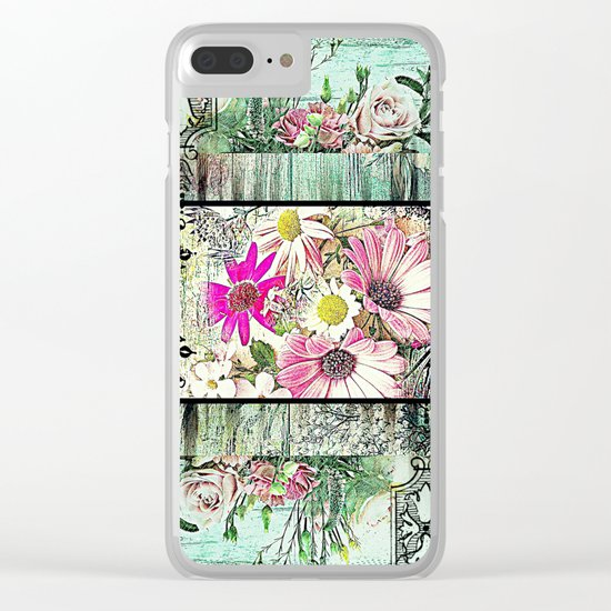 Tower of Flowers Clear iPhone Case